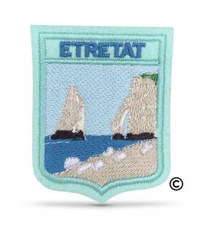 écusson brodé les falaises d'Etretat 76790