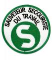 Ecusson SST Sauveteur Secouriste du Travail