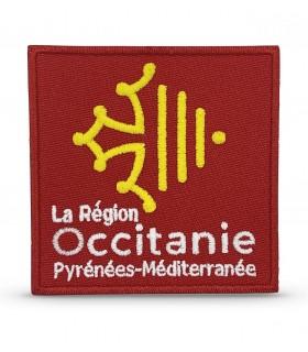 écusson brodé région Occitanie