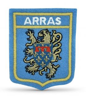 écusson brodé vile ARRAS