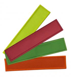 bande patro coloris fluo personnalisable sur velcro