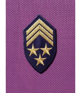 ÉCUSSON GRADE ARMY NAVY